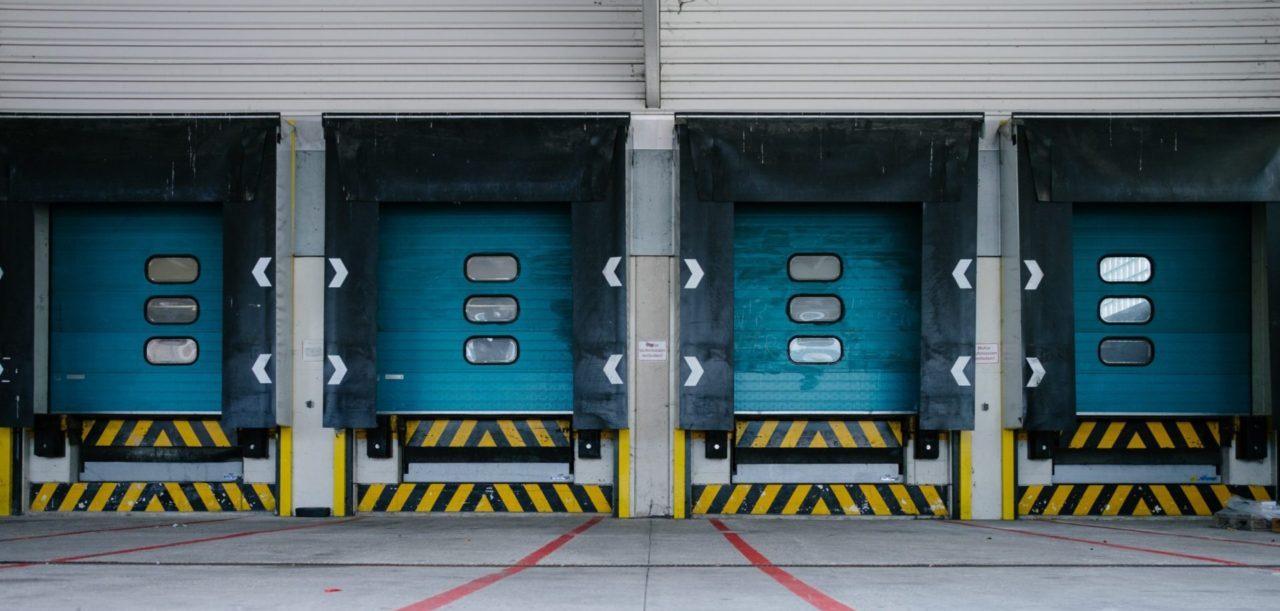 outdoor warehouse dock