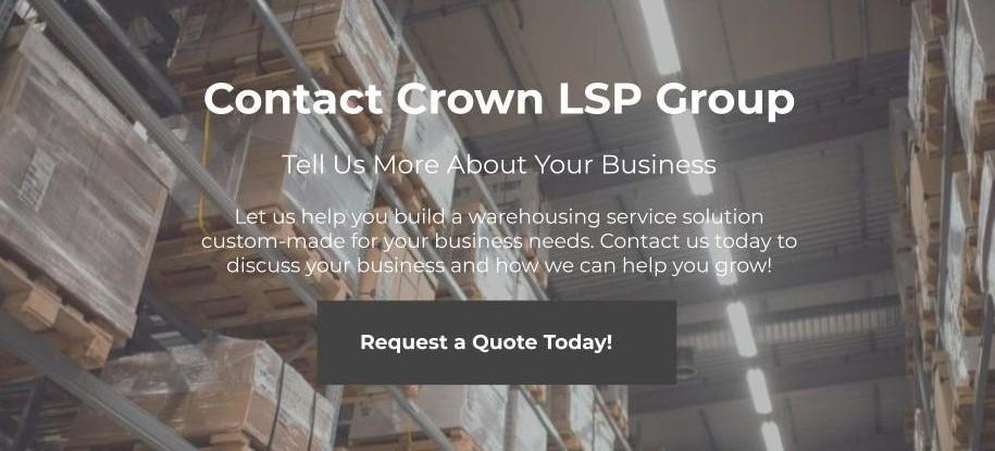 Let us help you build a warehousing service solution