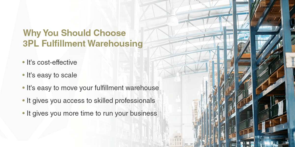 why you should choose 3pl fulfillment warehousing