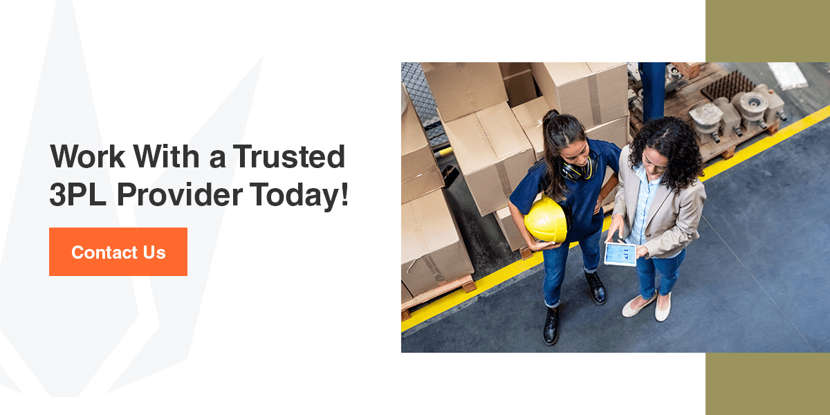 work with a trusted 3pl provider