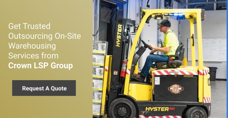 Get Trusted Outsourcing On-Site Warehousing Services from Crown LSP Group