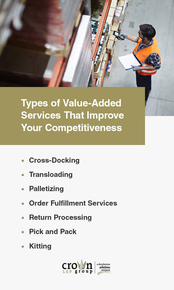 Types of Value-Added Services That Improve Your Competitiveness