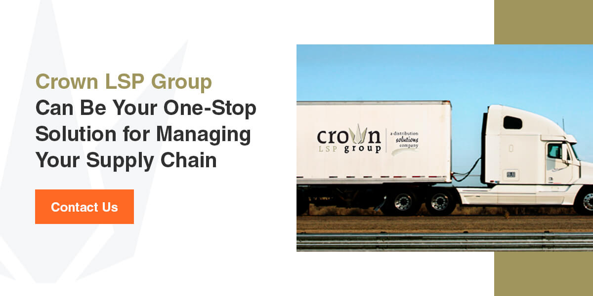 Crown LSP Group Can Be Your One-Stop Solution for Managing Your Supply Chain