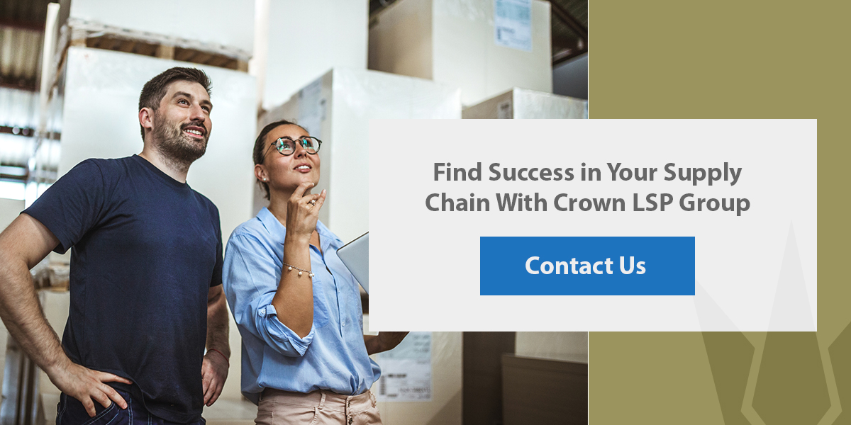 find success in your supply chain with crown lsp group