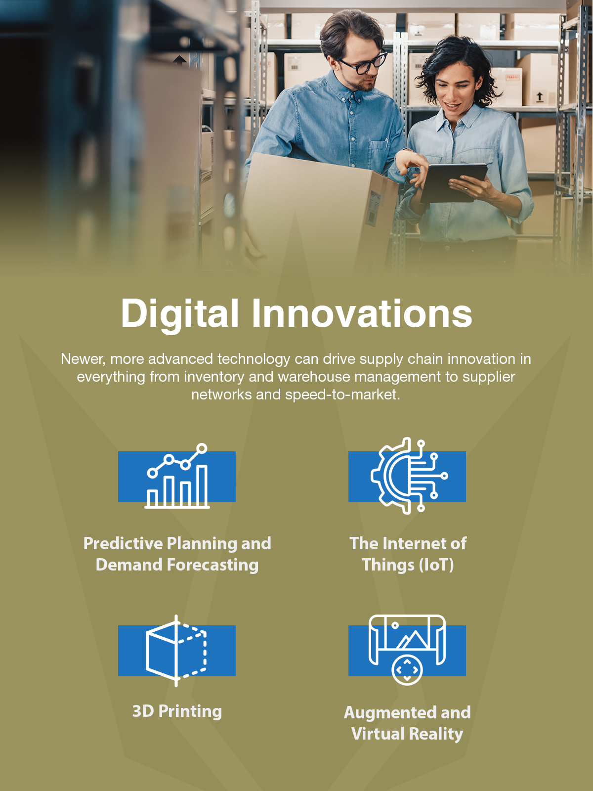 supply chain digital innovations